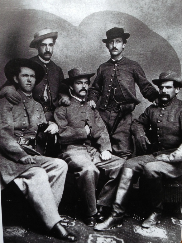 A group of Mosby's Rangers during the Civil War. Its great to get these private images, the old uniforms are interesting.